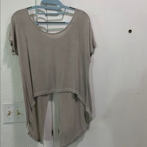 Brandy Melville Open Back T-Shirt.